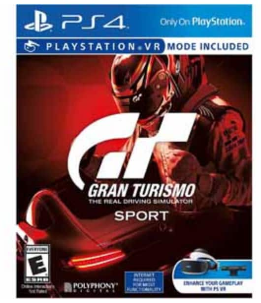 PS4 GT Sport Standard or Limited Ed 20% off with frys special code FS 10/17 only $47.88