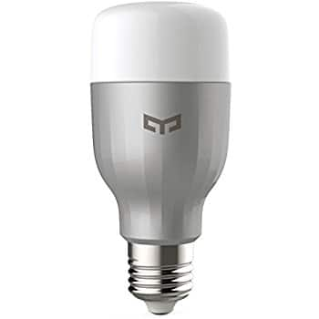 YEELIGHT LED Bulb Color, Wi-Fi, Dimmable (110V US version) for $25 on Amazon (YMMV $18.24)