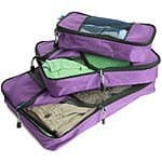 TravelWise 3 Pc Packing Cube Set - 50% off (two colors) at Amazon