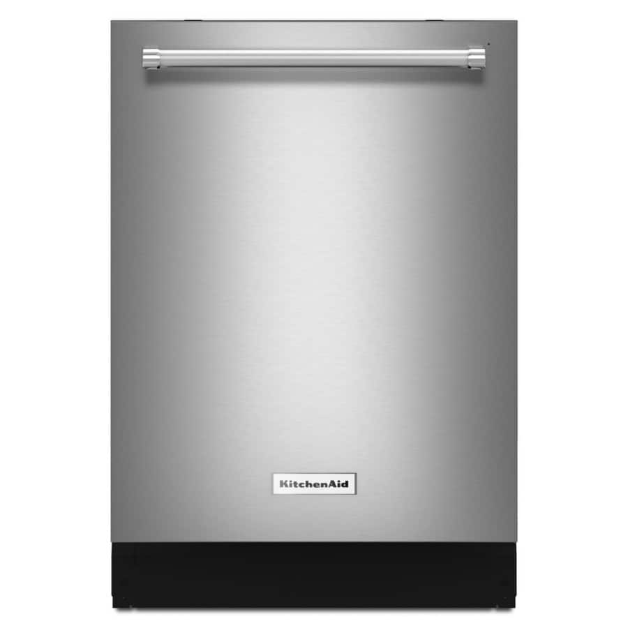 KitchenAid 46-Decibel Built-In Dishwasher KDTE104ESS (Stainless Steel) - $539.00 FS at LOWES