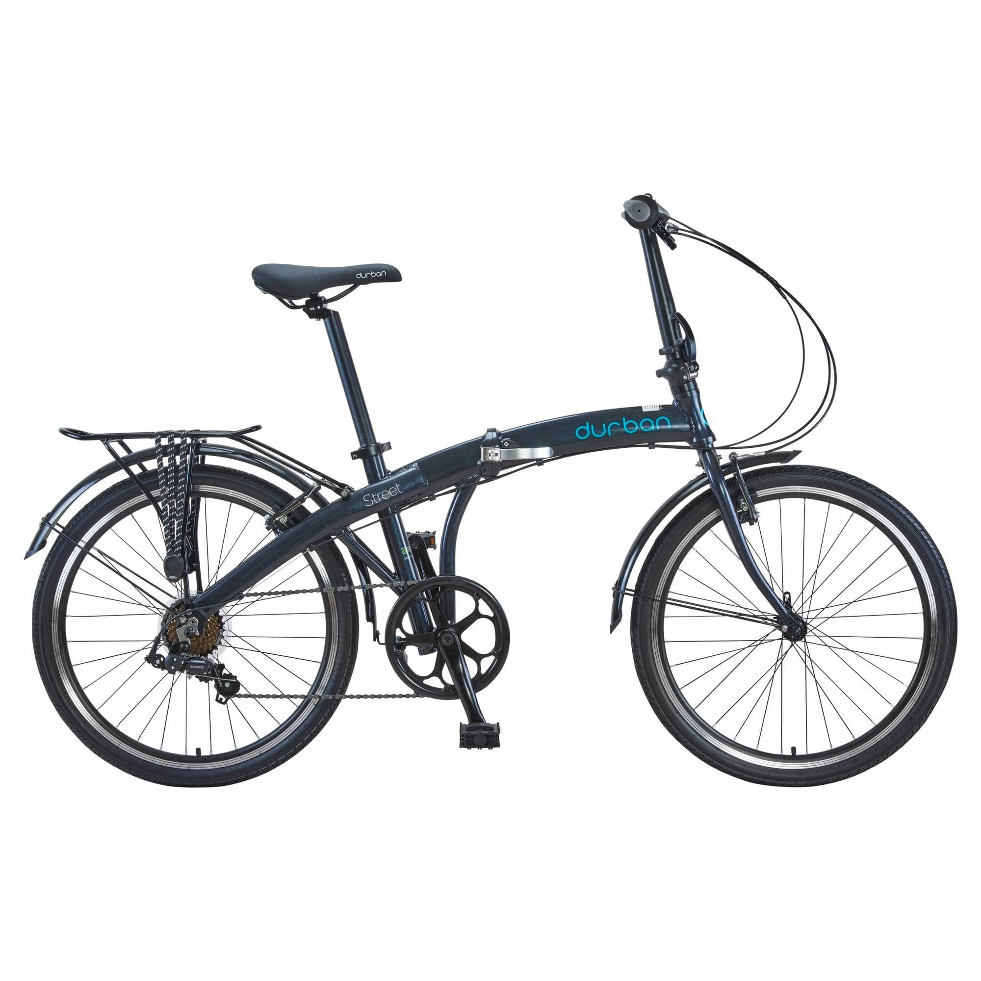 Durban Street Folding Bike- Black $125 Clearance YMMV