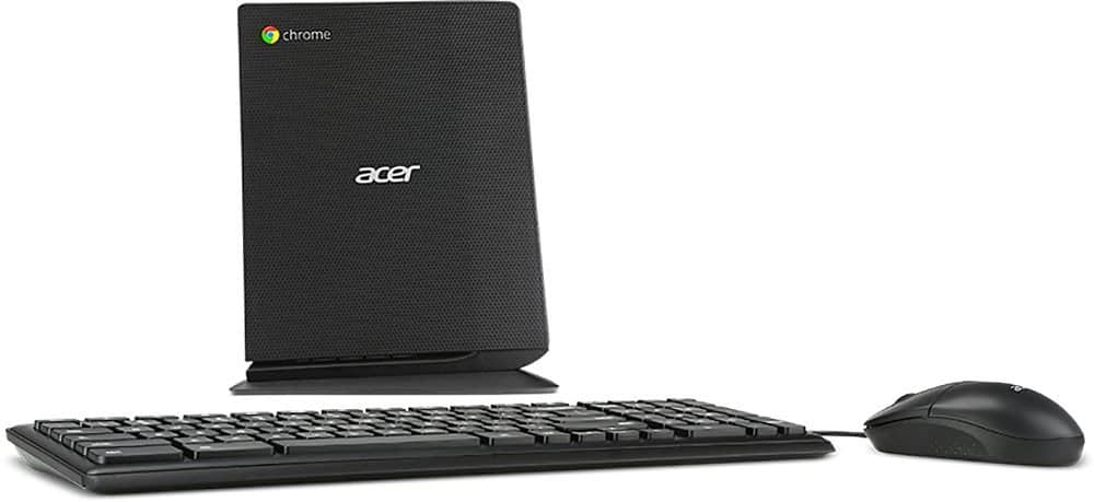Acer Chromebox Desktop: Celeron 3205U, 16GB SSD, 4GB RAM