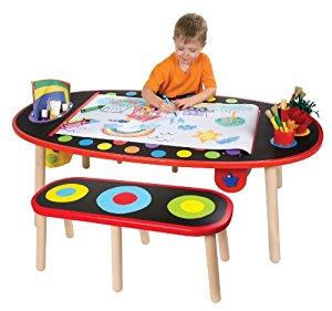 ALEX Toys Artist Studio Super Art Table with Paper Roll - $87.99 Amazon