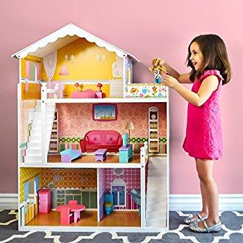 KidKraft Savannah Dollhouse with Furniture - $49.97 Amazon