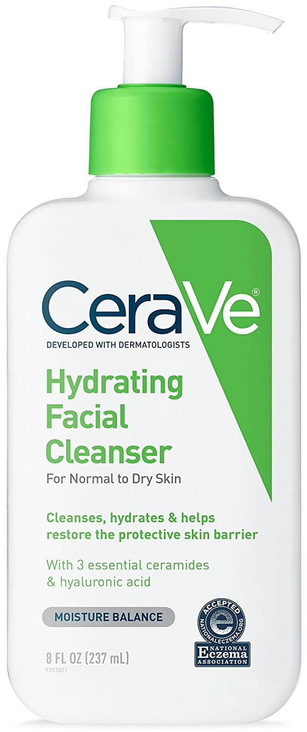 CeraVe Hydrating Facial Cleanser 8 Fl oz for Daily Face Washing - $1.12 Amazon Prime Pantry