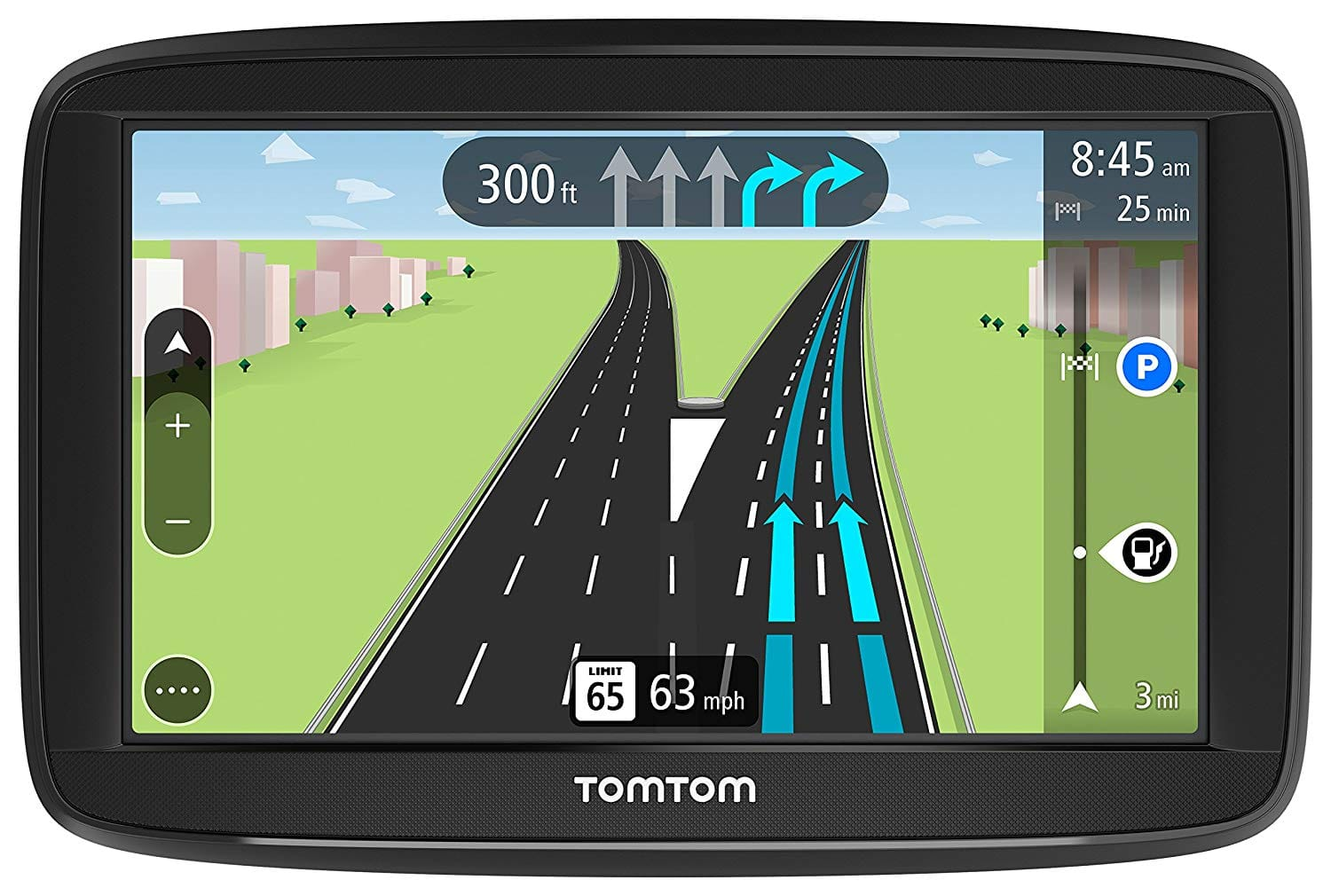 TomTom VIA 1625TM 6-Inch GPS Navigation Device with Free Lifetime Traffic - $100.47