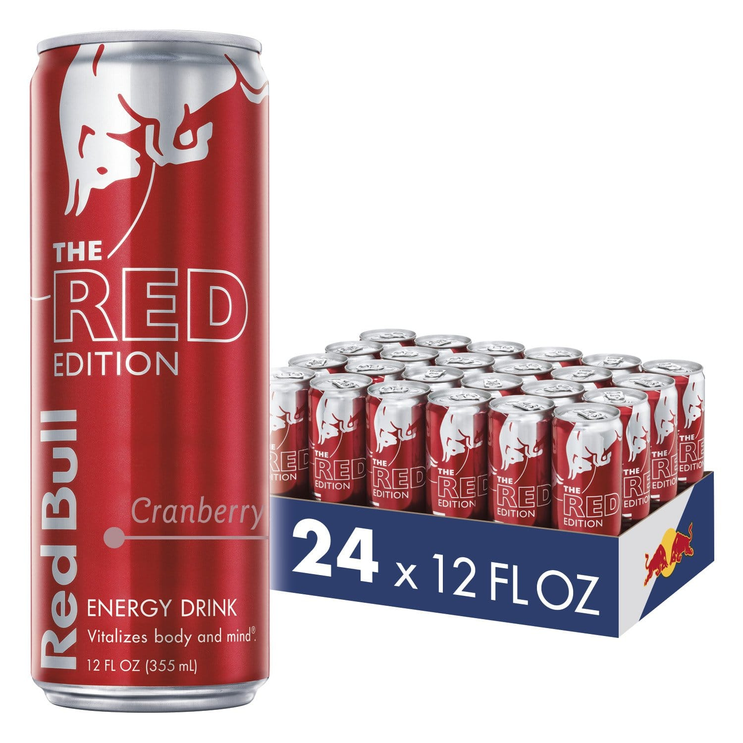 24-Pack 12-Oz Red Bull Energy Drink (Cranberry) $35.57 w/ S&S + Free S&H
