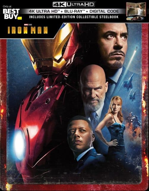 Disney Steelbook 4K Blu Ray Movies: Iron Man, Captain America, Toy Story & More $13 to $20 + Free Shipping or In-Store Pickup @ Best Buy