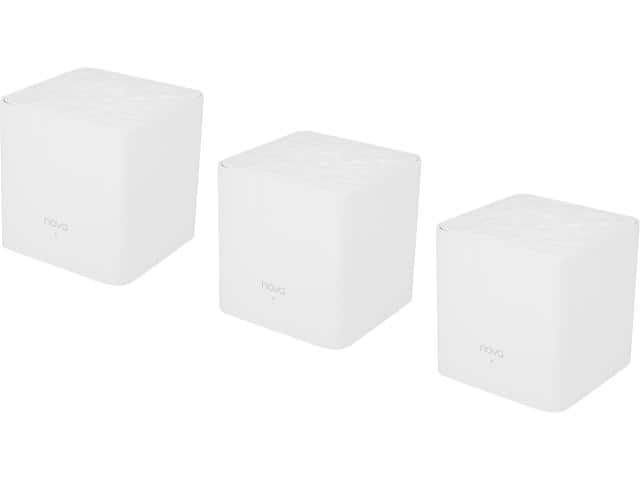 MW3(3-Pack) Whole Home Mesh Router Wi-Fi System Coverage Up to 4,000 sq. ft., Plug and Play, Works with Alexa $69.99
