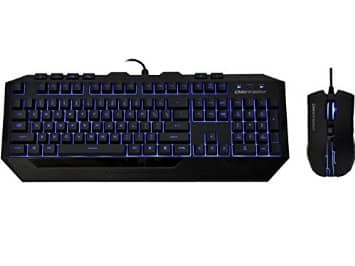 CM storm Devastator - LED gaming keyboard & mouse combo (blue, red and green) $19.99 after MIR @ Newegg.com