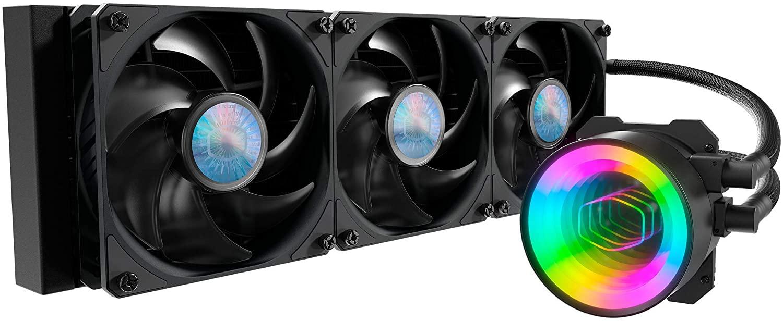 Cooler Master MasterLiquid ML360 Mirror ARGB Close-Loop AIO CPU Liquid Cooler - $134.99 @ Amazon.com