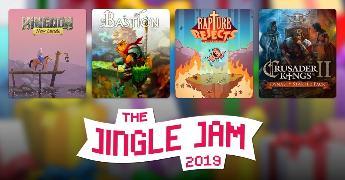 Humble Bundle Yogscast Jingle Jam 2019 - $30