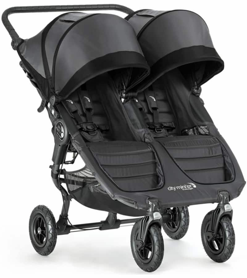 Baby Jogger City Mini Gt Double Stroller Shadow Black 429 99 With