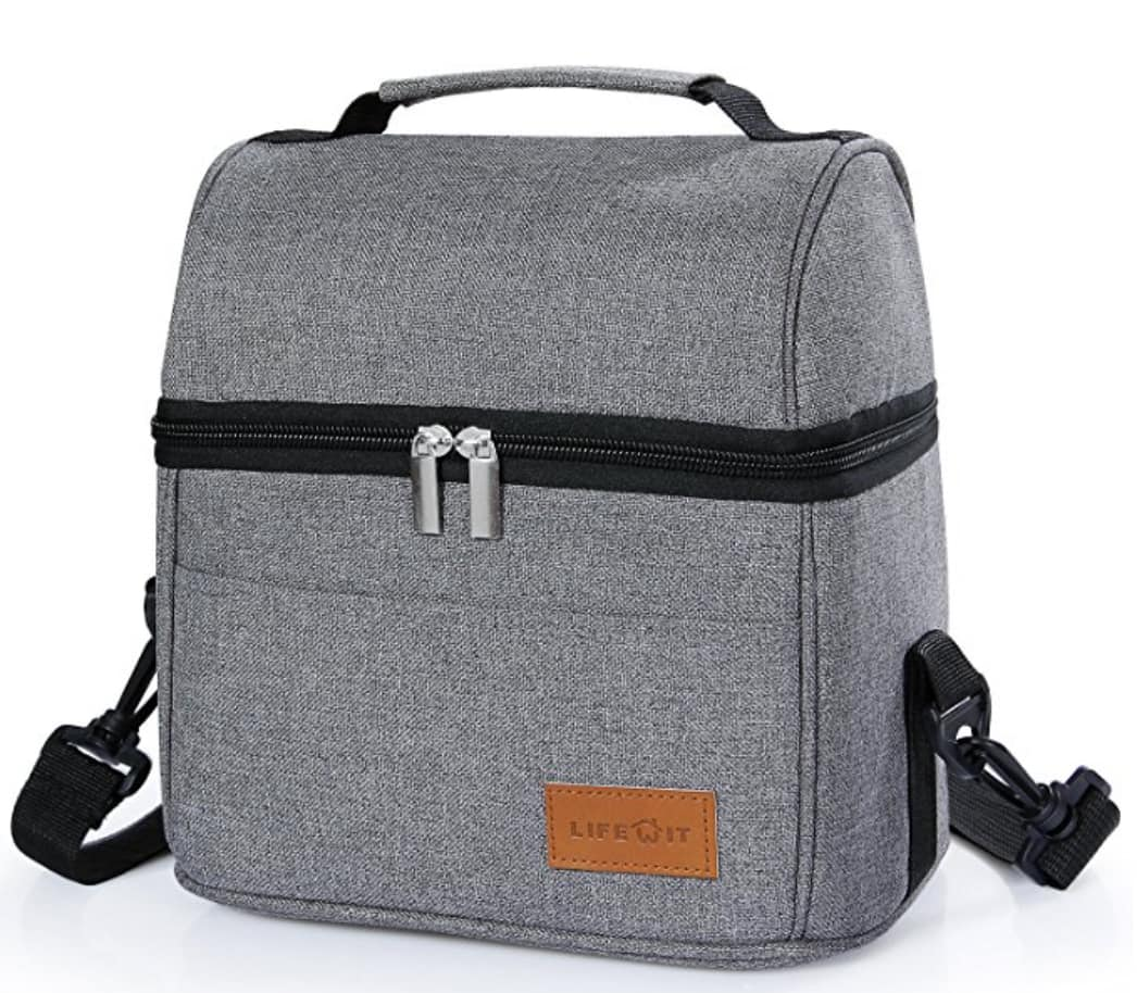 Insulated Lunch Box for Men Women Kids, Thermal Lunch Bag for Work School Picnic ($7.99 + Free Shipping)