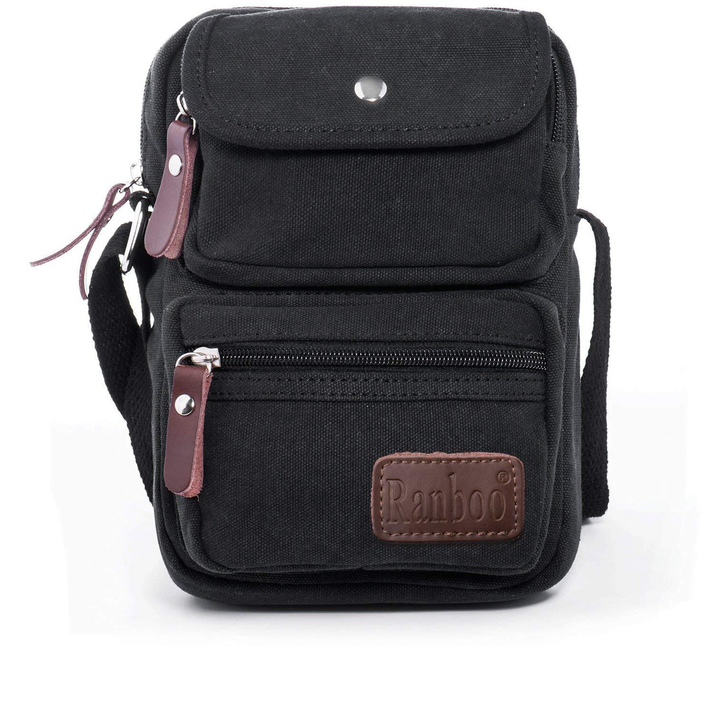 Multifunctional Men's Canvas Messenger Bags ($7.60AC +FS)