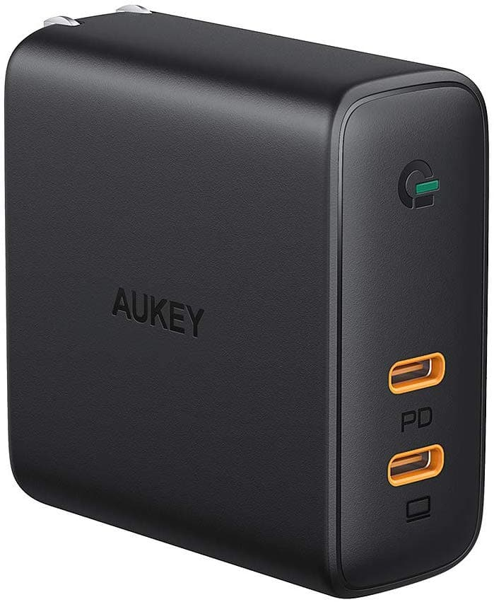 AUKEY Dual Port USB C Charger 60W PD 3.0 $32.99