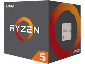 Amd Ryzen 5 2600 3.4 GHz Desktop Processor w/ Wraith Cooler $109.99