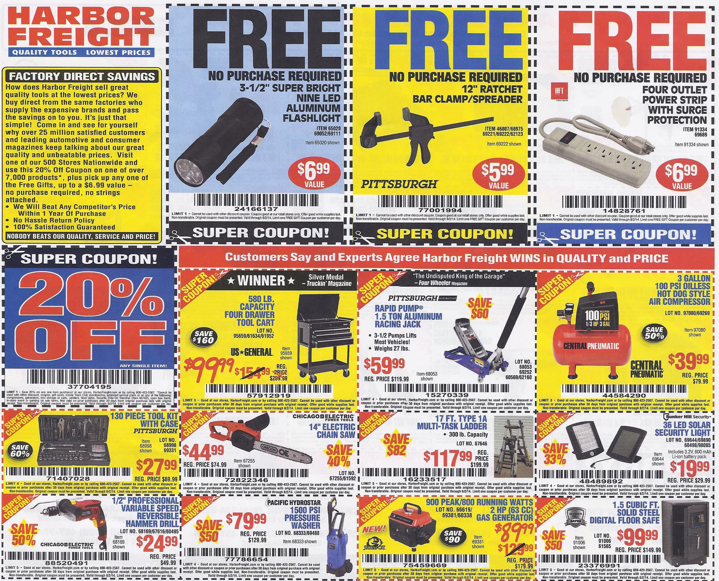 Harbor Freight Coupon Thread Page 541 Slickdeals Net