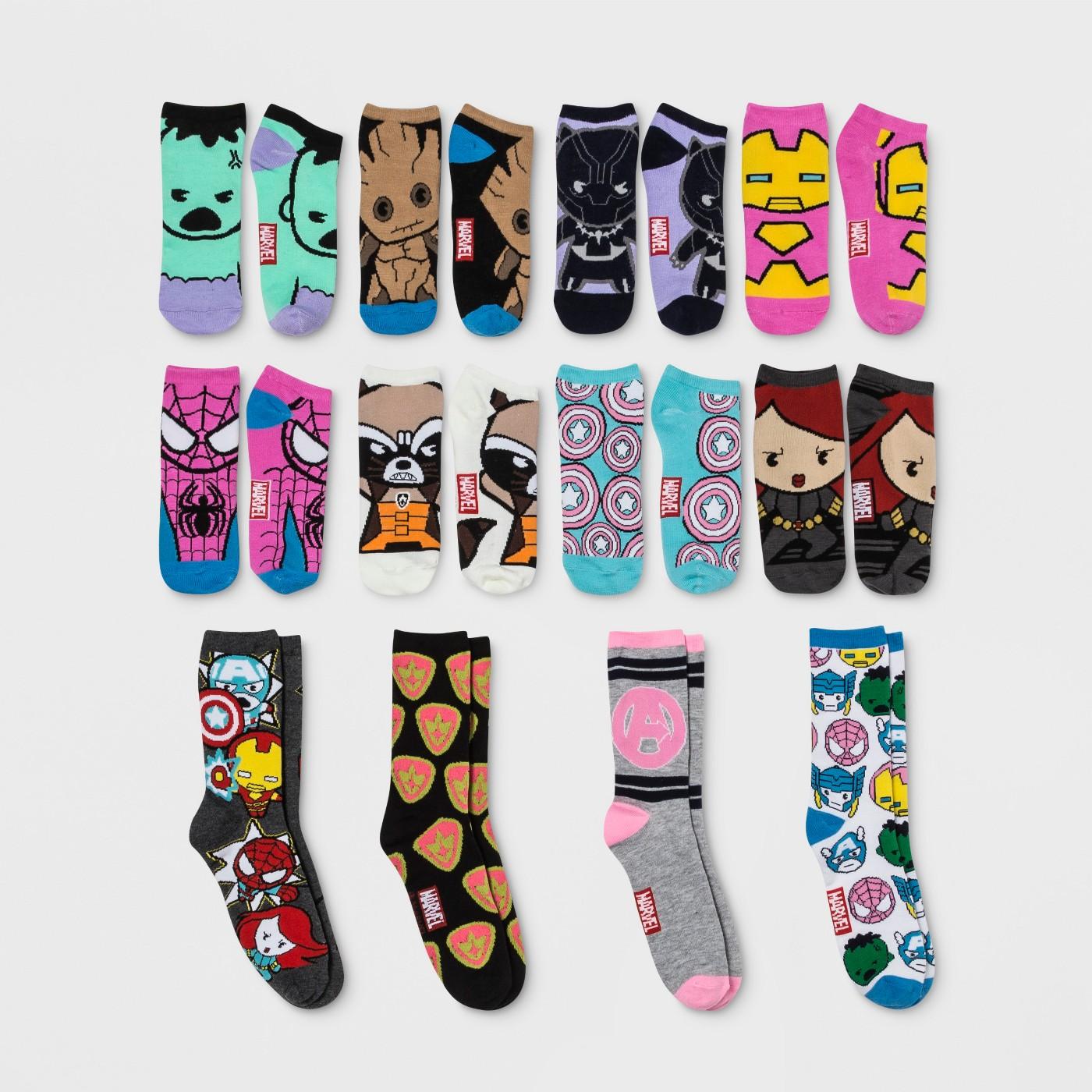 f14d2ba75f8 Women s 12 Days of Socks Advent Calendar (various styles ...