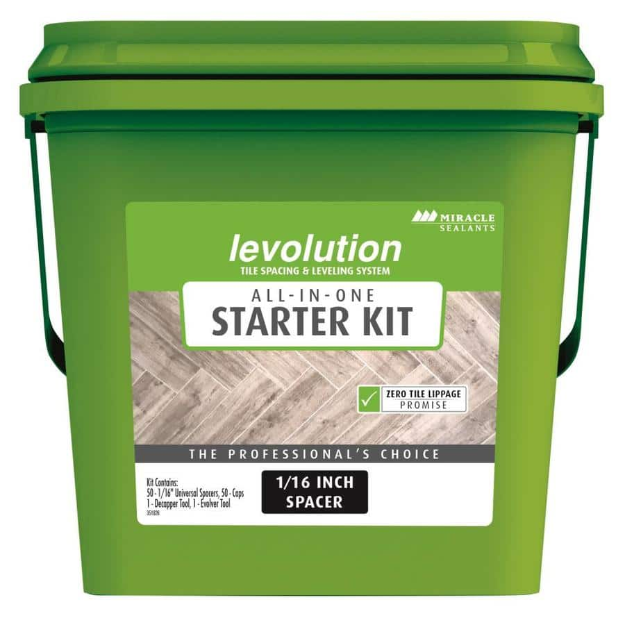 """Lowes: Levolution All-In-One Starter Kit 1/16"""" Spacers YMMV $12.49"""
