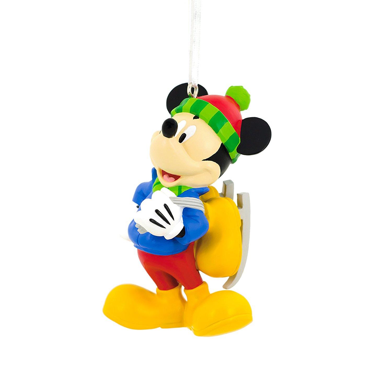 Hallmark Disney Mickey Mouse Skating Christmas Ornament $5.59