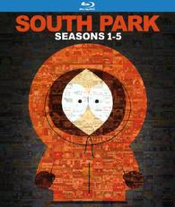 South Park Seasons 1-5 Blu-ray Box Set $43