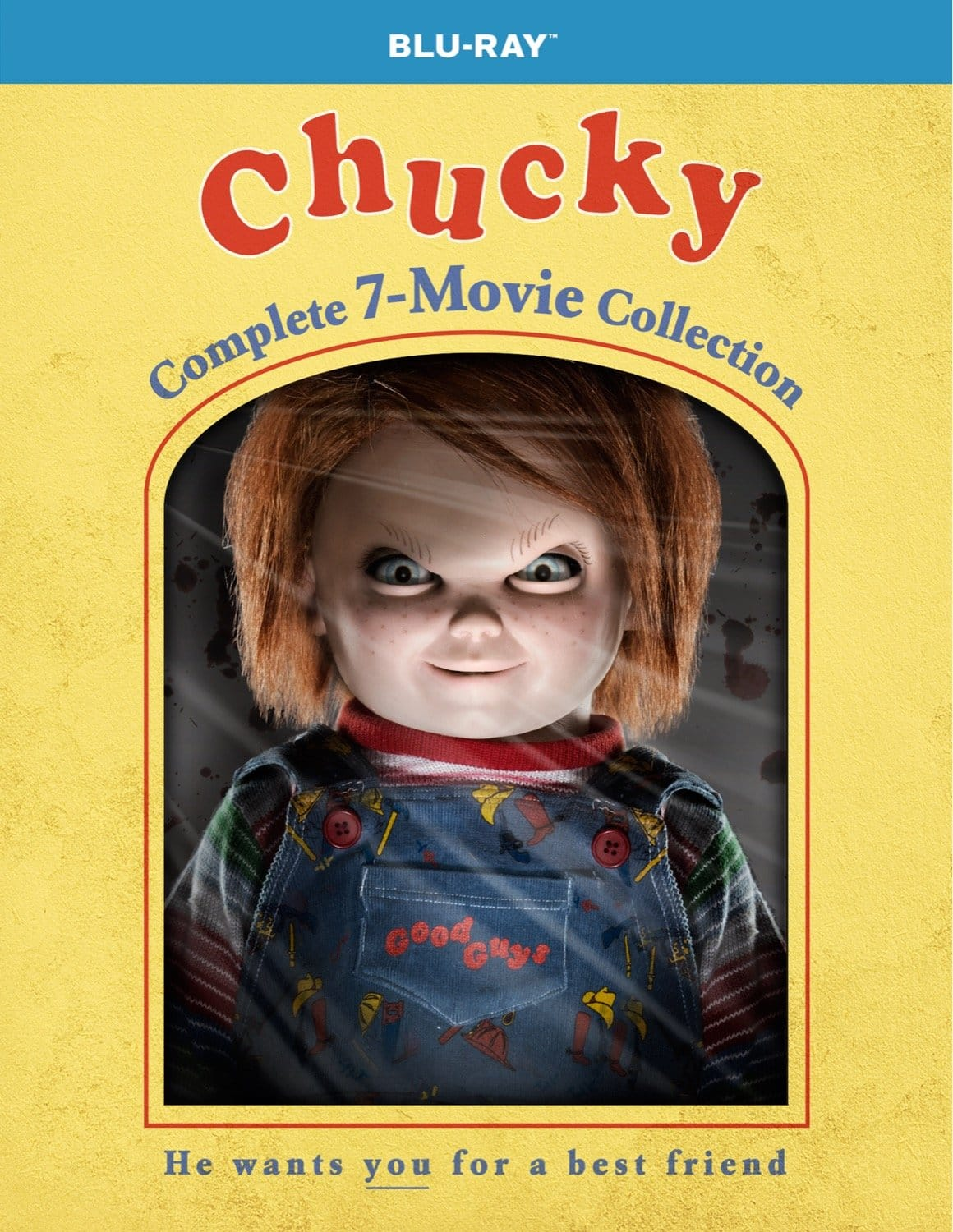 Chucky: Complete 7-Movie Collection [Blu-ray] $25