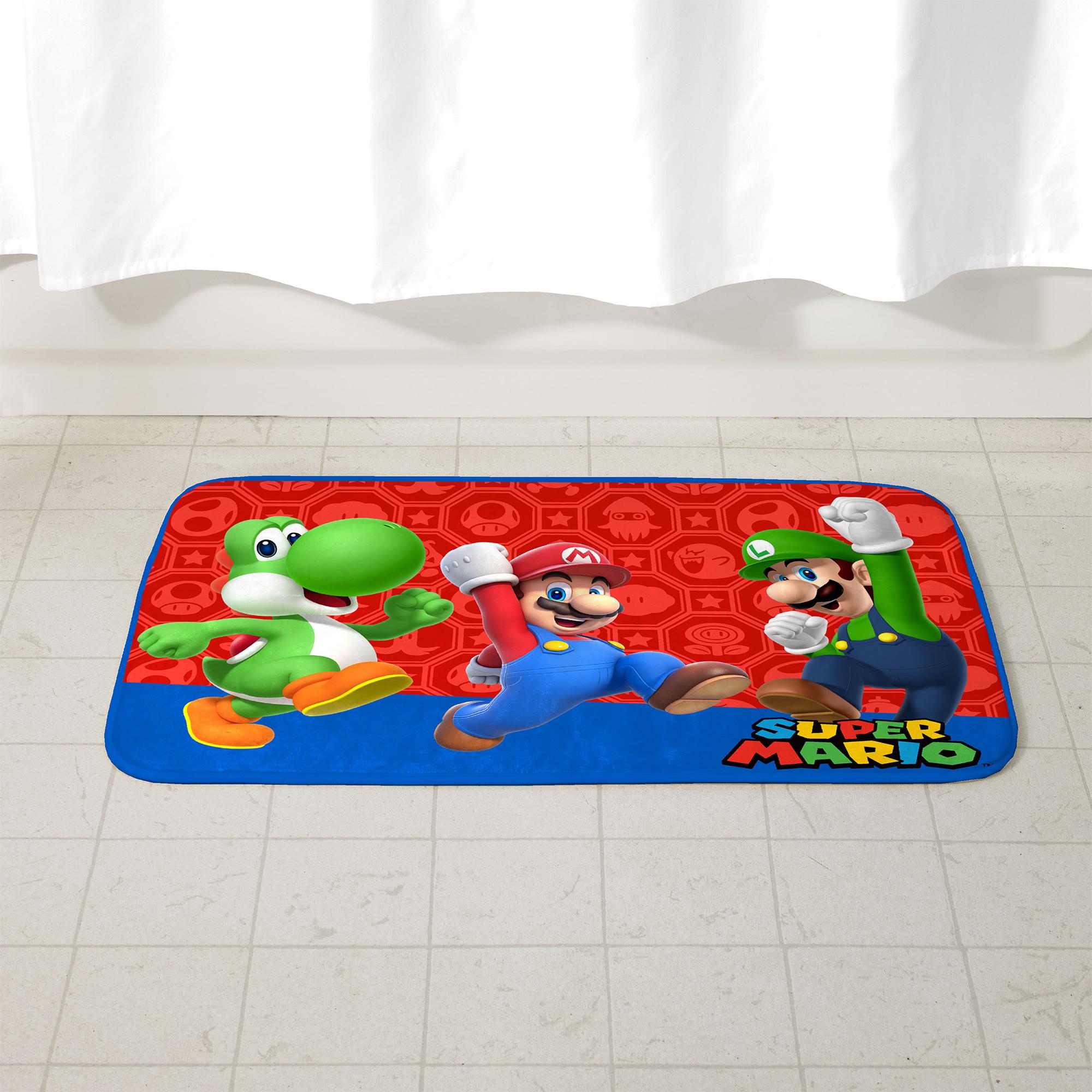 Super Mario Bath Mat $10.31