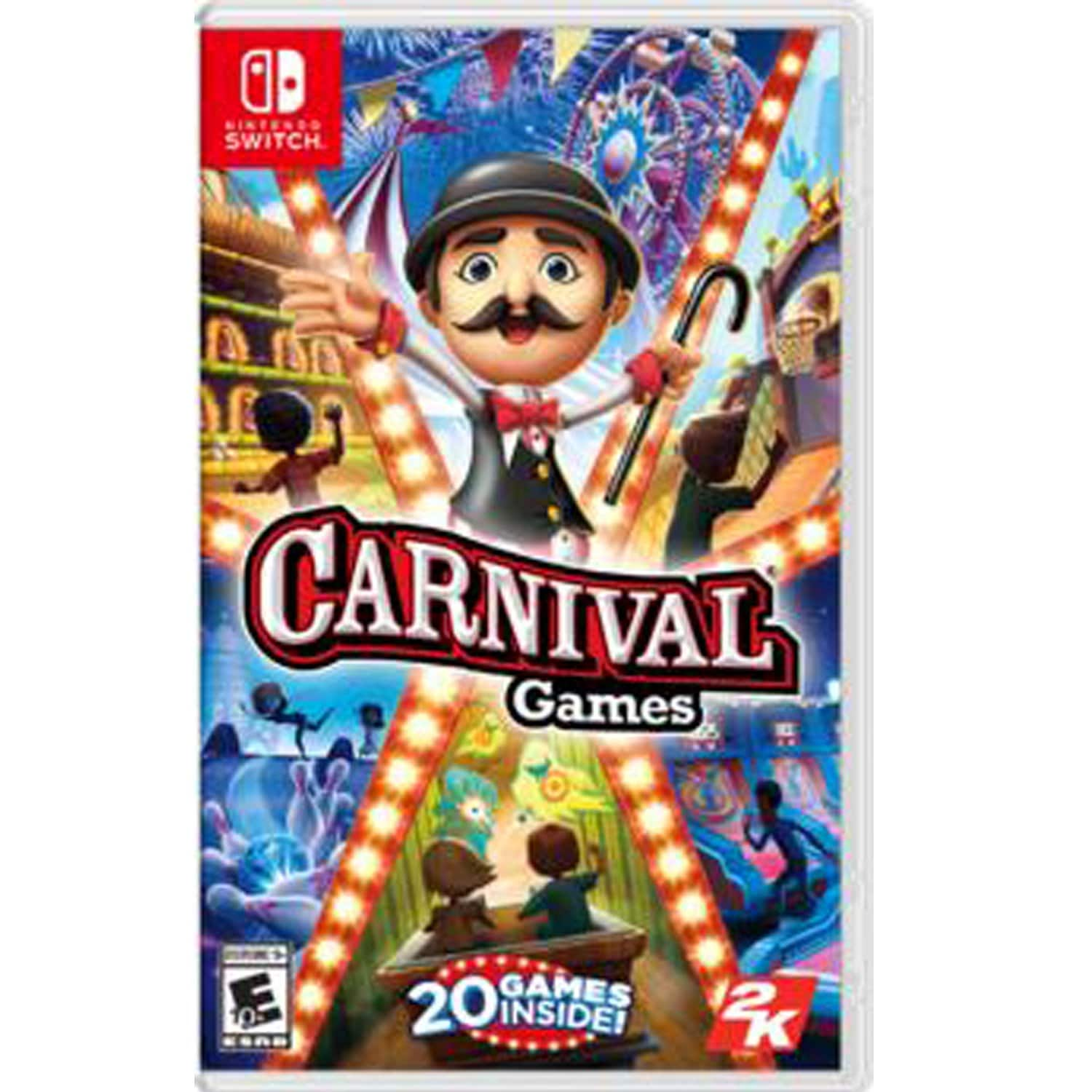 Carnival Games or NBA 2K Playgrounds 2 (Nintendo Switch) - Gamestop Used $9 or New $10