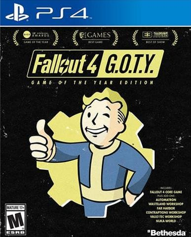 Fallout 4 GOTY PS4 24.99 + 1.99 SHIP