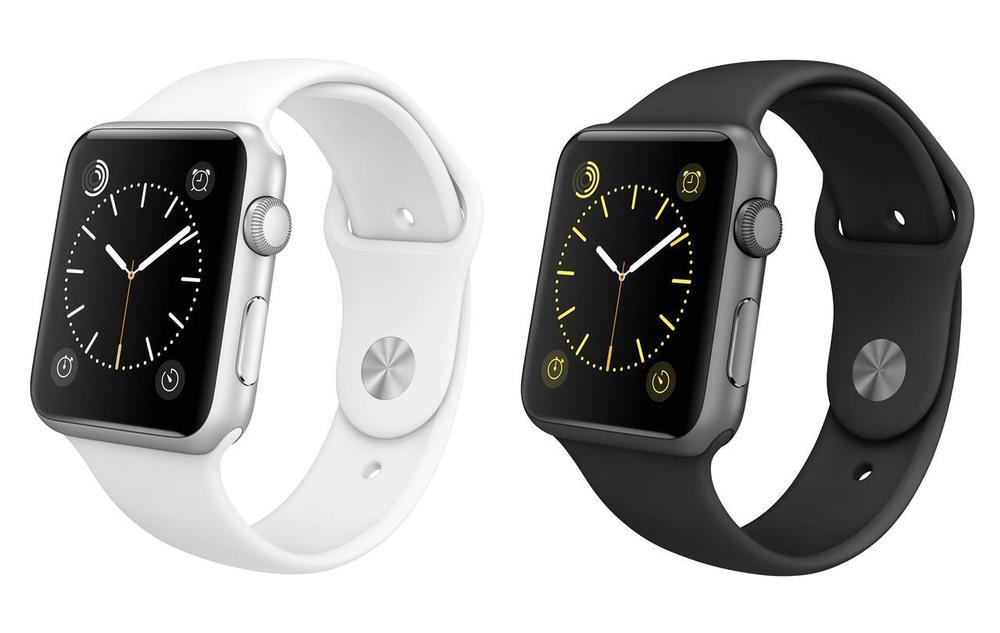 Apple Watch Sport - 42mm Aluminum Case & Sport Band Refurbished Grade A $234.99
