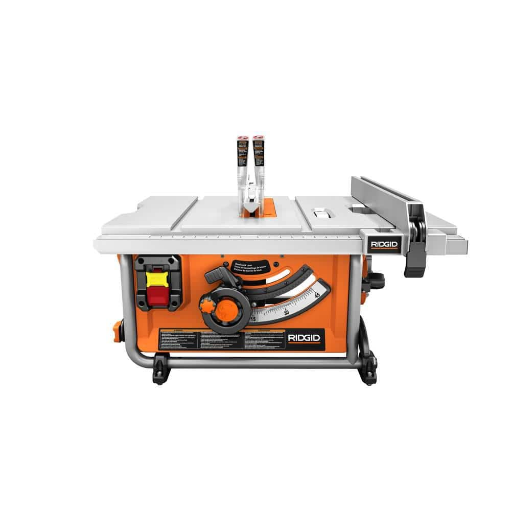Ridgid R45171NS 15 Amp Corded 10 in. Compact Table Saw $219