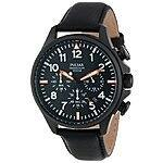 Seiko/Pulsar PT3299 Black Finish Chronograph - Aviator Style - $37.74 @ Amazon