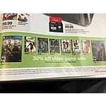 Target 30% off select games starting Sunday