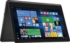 "Open Box Dell - Inspiron 2-in-1 15.6"" 4K Ultra HD Touch-Screen Laptop - Intel Core i7 - 8GB Memory - 1TB Hard Drive $599"