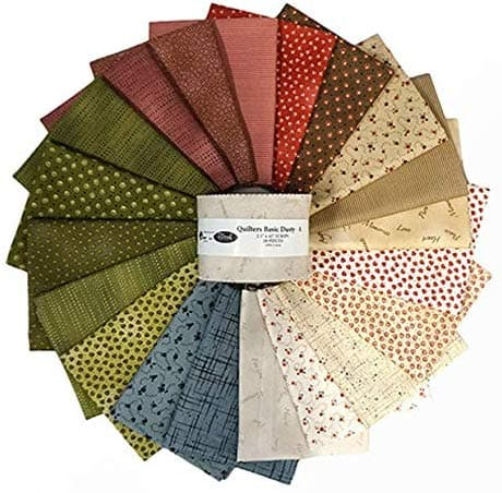 "assorted quilting Jelly Roll 2.5"" fabric strips from $6.49/20pc with free Prime shipping $6.49"