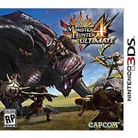 Amazon Deal: Monster Hunter 4 Ultimate Standard Edition (Nintendo 3DS) $29.99 Amazon Pre-order