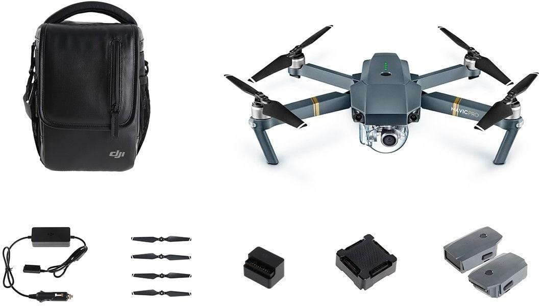 DJI - Mavic Pro standard bundle *$899 + $100 Best Buy GC and DJI - Mavic Pro fly more combo $1149 + $100 Best BuyGC