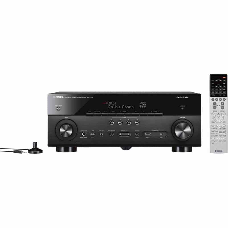 Yamaha RX-A770 - $379, Denon x1400H -$378, Yamaha RX-V383 - $189 at Fry's with Sunday Promo Code In Store Only