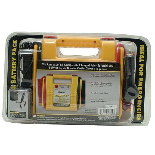 Rally Cordless Emergency Boost-It Battery Jumper  $10.20 Free shipping Amazon & ebay