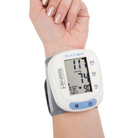 Bluestone Automatic Wrist Blood Pressure Monitor with 120 Memory $12.99 Walmart free in store pickup