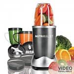 NutriBullet 12-pc. 600-Watt Superfood Nutrition Extractor and Blender Set @ $60 or $68