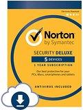 Norton Security Deluxe - 5 Devices (Amazon) - $19.99