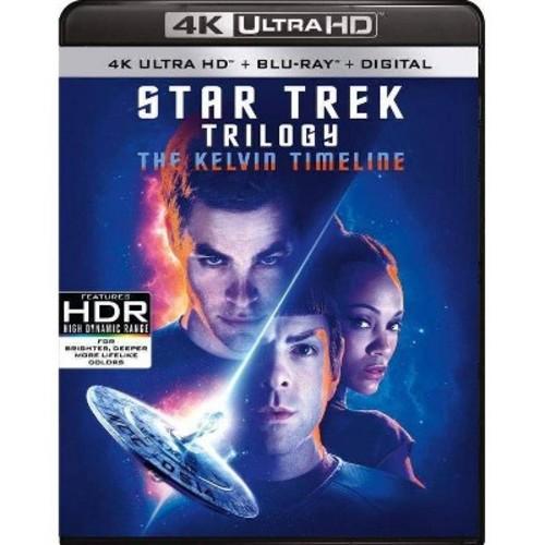 Star Trek Trilogy: The Kelvin Timeline (4K UHD + Blu-ray + Digital) $38 + Free Shipping