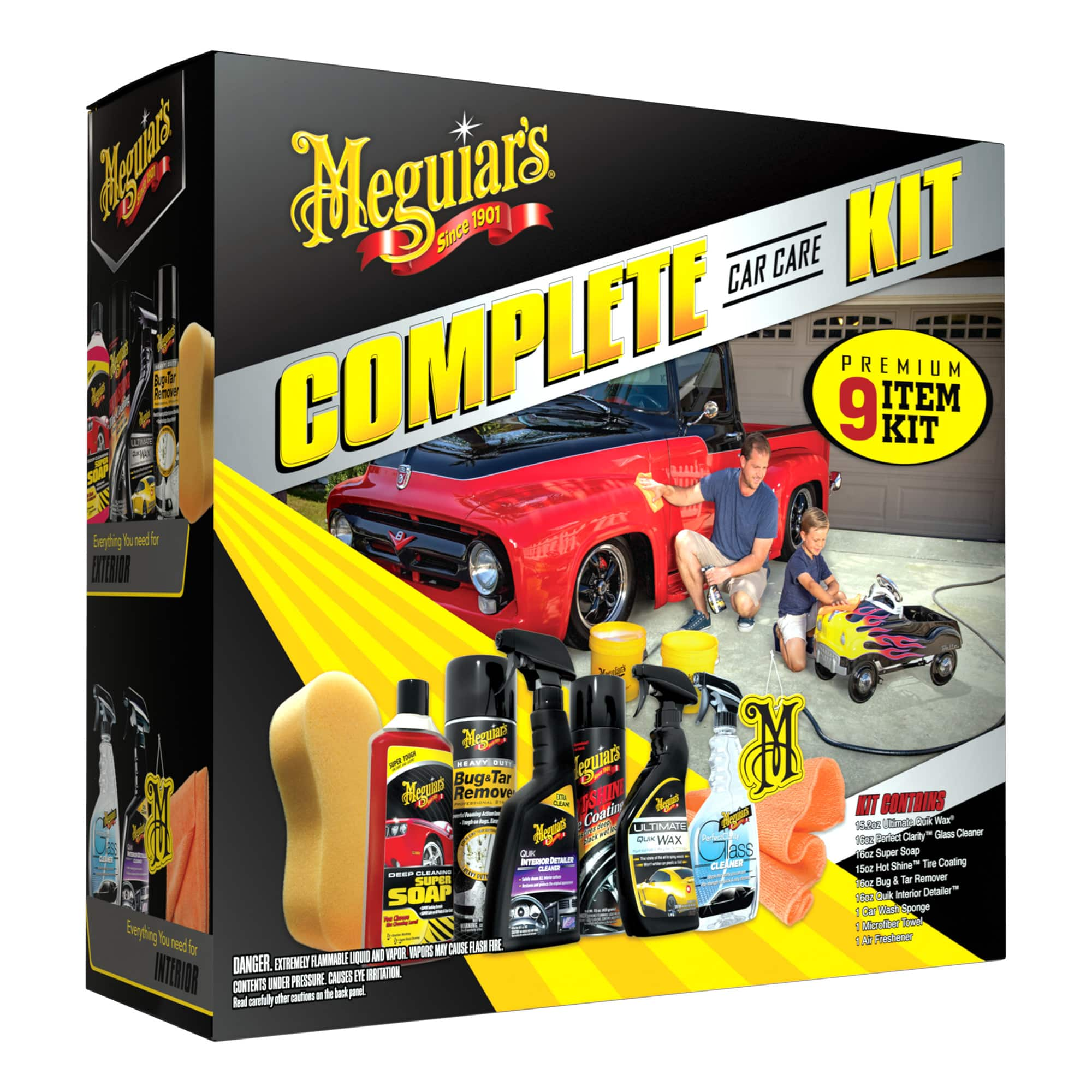 Meguiars 9 Peice Complete Car Kit In Store Only 9 At Walmart B M