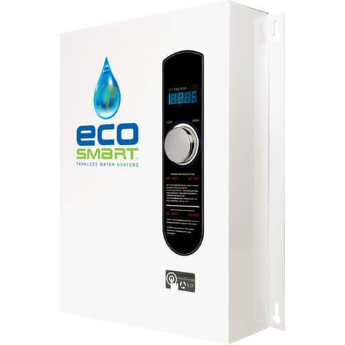 EcoSmart ECO 27kW Electric Tankless Whole-Home Water Heater $394