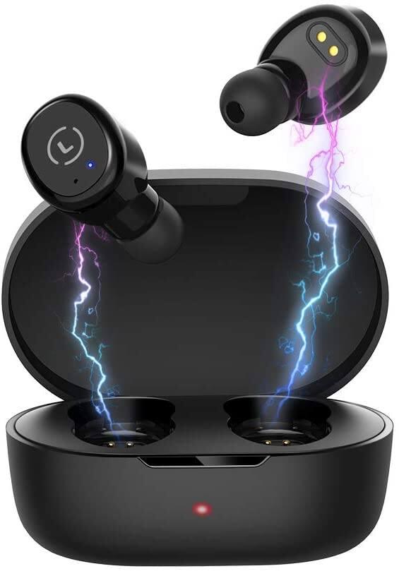 Ankbit True Wireless Earbud (Bluetooth 5.0 w/Built-in Mic, IPX8 Waterproof) for $10.15 + Free Shipping
