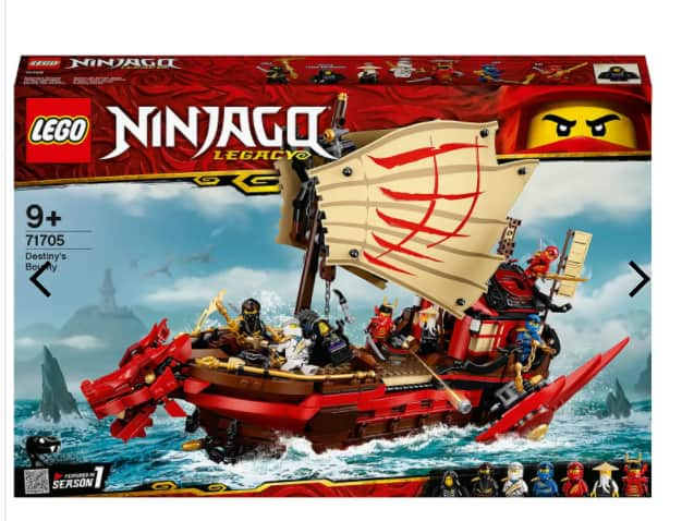 LEGO NINJAGO: Legacy Destiny's Bounty Ship Set for $104.99 + FS