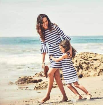 Mommy and Me Straw Hats $2.99, Daddy & Boys' Graphic T-shirts $4.99, Family Match Floral Dress $4.99, Swimsuits $5.99, Aprons $2.99 (Available for 200+ Styles) & Free S&H on $29+
