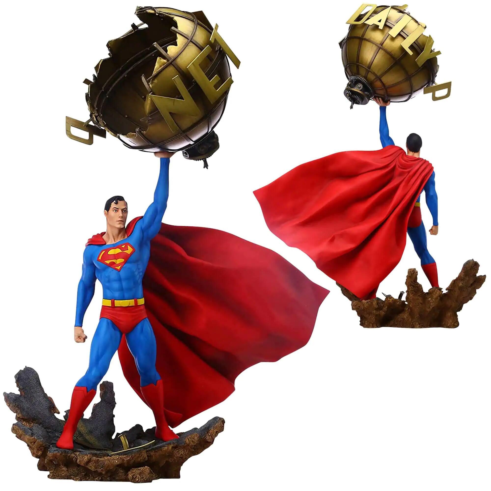 "Enesco Grand Jester Limited Edition 24.4"" DC Superman Statue, 1/6 Scale - $119 shipped"